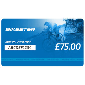Bikester Gift Certificate Voucher £75
